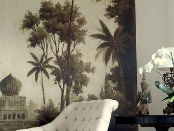 Ananb� - badalpur s�pia - Papier Peint Panoramique