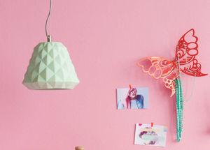 EurAipT's - porte bijoux mural papillon rouge en métal 11x4x8, - Coffret À Bijoux