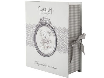 Mathilde M - boîte à souvenirs nounours - Coffret De Naissance