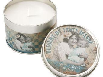 Orval Creations - bougie parfum dessert de tante jeanne - Bougie Parfum�e