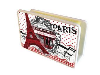 Orval Creations - cache-�ponges bistro de paris - Porte �ponge