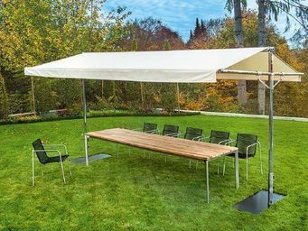 Tectona - beaumont - Table De Jardin � Rallonges
