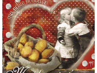 Orval Creations - dessous-de-plat madeleine, je t'aime - Dessous De Plat