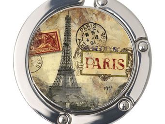 Orval Creations - porte-sac rond paris monuments - Accroche Sac