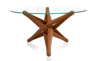 PLANKTON avant garde eco design - lockbamboo dining table - Pied De Table