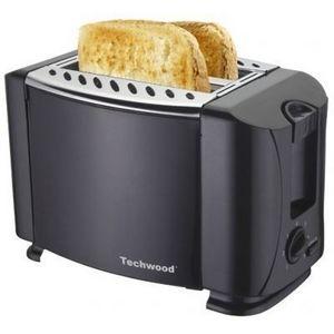 TECHWOOD - grille pain noir - Toaster