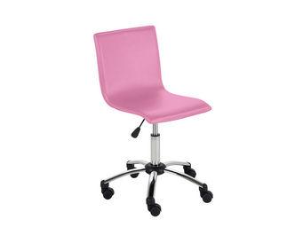ACHATDESIGN - chaise de bureau azo rose - Chaise De Bureau