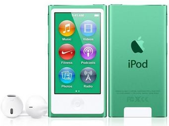 APPLE - ipod nano 16 go vert (7me gnration) - new - Mp3
