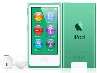 APPLE - ipod nano 16 go vert (7me gnration) - new - Mp3