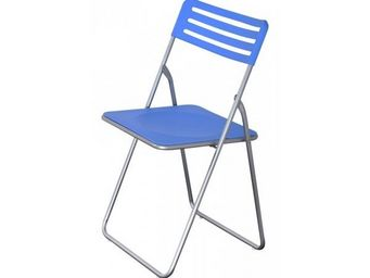 Up Trade - chaise pliante bleu plegar - lot de 6 - Chaise Pliante