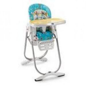 CHICCO - chaise haute polly magic baby sketching - Chaise Haute Enfant