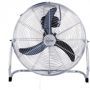 FARELEK - ventilateur turbo � 45 cm, 3 vitesses, chrom� fare - Ventilateur De Table