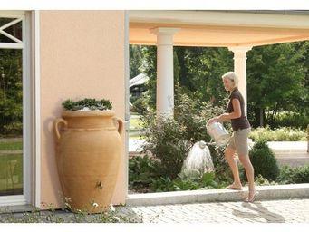 GARANTIA - kit recuperation eau de pluie amphore antik murale - Récupérateur D'eau