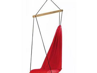 Amazonas - fauteuil à suspendre hangover rouge 63x90x180cm - Hamac Chaise