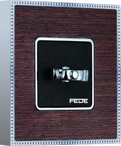 FEDE - belle �poque wood collection - Interrupteur Rotatif