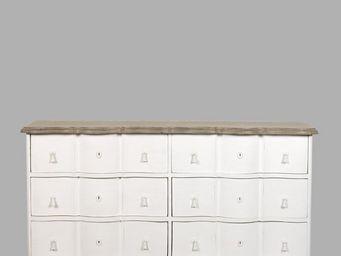 BLANC D'IVOIRE - carlotta blanc antique - Commode
