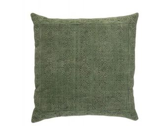 BLANC D'IVOIRE - noe vert - Coussin Carr�