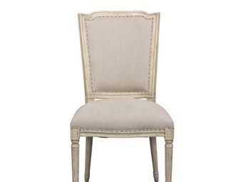 BLANC D'IVOIRE - amelie - Chaise
