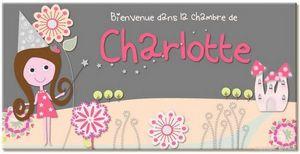 BABY SPHERE - plaque de porte f�es - Plaque De Porte Enfant