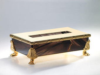 Cristal Et Bronze -  - Boite � Mouchoirs