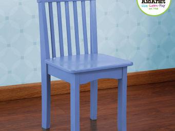 KidKraft - chaise bleuet en bois pour enfant 34x32x68cm - Chaise Enfant