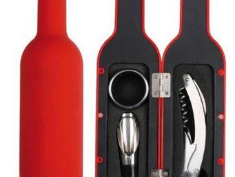 La Chaise Longue - coffret bouteille rouge 3 accessoires pour le vin - Coffret � Vin