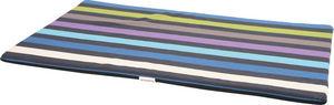 ZOLUX - tapis mousse déhoussable feria bleu 105.5x65x3cm - Lit Pour Chien
