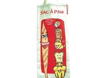 Cm - sac �pain - couleur - rouge - Sac � Pain