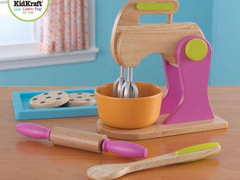KidKraft - accessoires de p�tisserie en bois color� - Jouets De Poup�e