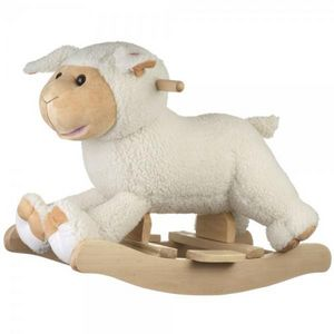 La Chaise Longue - mouton � bascule anim� - Cheval � Bascule