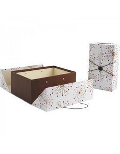 Aubry-Gaspard - coffrets en carton avec élastique - Boite De Rangement