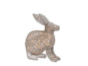 BLANC D'IVOIRE - lapin - Décoration De Noël