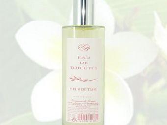 Savonnerie De Bormes - eau de toilette - fleur de tiaré - 100 ml - savonn - Eau De Toilette