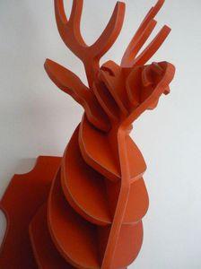 SYLVIE DELORME - elliot cerf - Sculpture Animalière