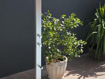 Douches de jardin - inox square - Douche D'extérieur