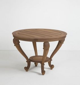 CHELINI -  - Table De Jardin Ronde