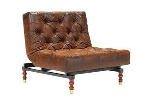 INNOVATION - fauteuil lit design old school vintage convertible - Fauteuil Bas