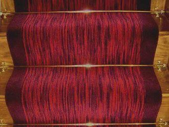 Moquettes A3C CARPETS - tapis d'escalier flamm� 1202 - Tapis D'escalier