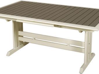 Les Jardins - table extensible hegoa ouverture automatique 184-2 - Table De Jardin � Rallonges