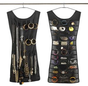 Umbra - rangement de bijoux petite robe noire 45x102cm - Porte Bijoux
