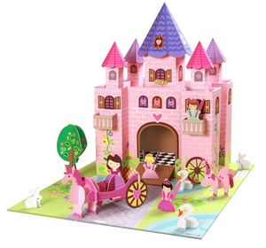 KROOOM-EXKLUSIVES FUR KIDS - jeu château de princesse trinny - Château Fort