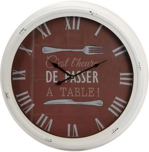 Amadeus - horloge bistrot a table 63cm - Horloge Murale