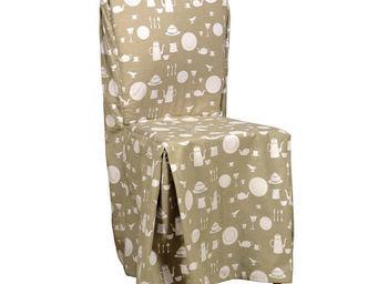 Interior's - housse de chaise cuisine - Housse De Chaise