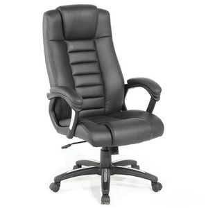 WHITE LABEL - fauteuil de bureau chaise ergonomique - Fauteuil De Direction