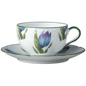 Raynaud - villandry fleurs - Tasse � Th�