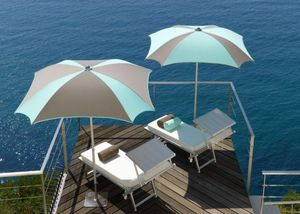 Ombrellificio Crema - quadrangular beach umbrella - Parasol