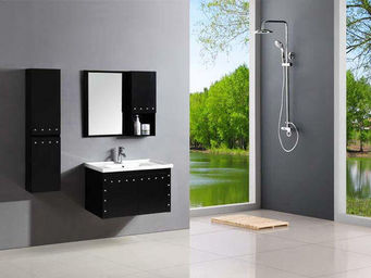 UsiRama.com - meuble salle de bain punk 90cm - Miroir � Poser