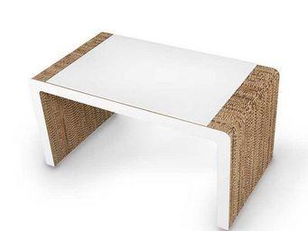 Corvasce Design - tavolo in cartone vimini - Table Bureau
