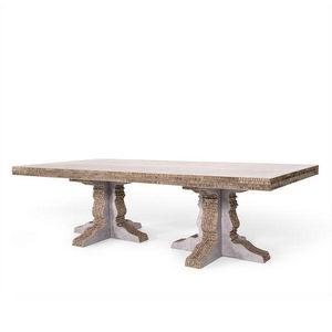 Corvasce Design - tavolo rettangolare columbia - Table De Conférence