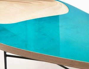 MALHERBE EDITION - table basse fidji 322 - Table Basse Forme Originale